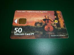 Télécartes > Télécartes - Pays > Portugal PORTO 2001 CAPITAL EUROPEI DA CULTURA 50 - Portugal