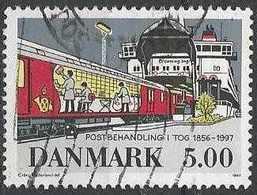 LSJP DENMARK TRAIN STATION 1997 - Used Stamps