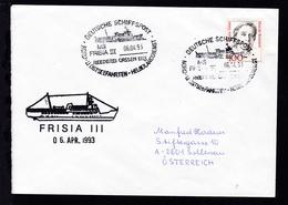 DEUTSCHE SCHIFFSPOST MS FRISIA III REEDEREI CASSEN EILS NORD- U, OSTSEEFAHRTEN- - Allemagne