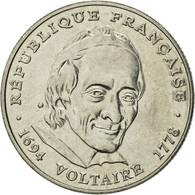 Monnaie, France, Voltaire, 5 Francs, 1994, Paris, TB+, Nickel, Gadoury:775 - France