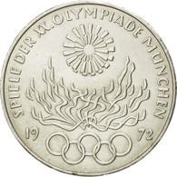 Monnaie, République Fédérale Allemande, 10 Mark, 1972, Munich, TTB, Argent - [10] Commémoratives