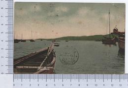 Trinidad ~ From The Wharf ~ Port Of Spain ~ 1920 ~ Davidson-Todd. LDT. Photo By Briant ~ Boats ~ Cromolitografia - Cartoline
