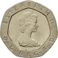 Monnaie, Grande-Bretagne, Elizabeth II, 20 Pence, 1982, TB+, Copper-nickel - 1971-… : Monnaies Décimales