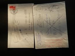 EMA - Lot D'enveloppes Taxées Par EMA - Marcophilie (Lettres)