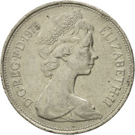 Monnaie, Grande-Bretagne, Elizabeth II, 10 New Pence, 1975, TB+, Copper-nickel - 1971-… : Monnaies Décimales