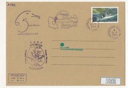 T.A.A.F - Enveloppe Martin De Vivies - St Paul Ams - 27/3/2014 - FS Floreal / 5eme Mission Amsterdam - Terres Australes Et Antarctiques Françaises (TAAF)