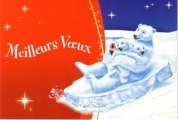 CARTE DE VOEUX COCA-COLA - Cartes Postales