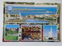 D160558 Iceland -Hafnarfjördur -printed Trip Advertising On Backside In Hugarian Language - Iceland
