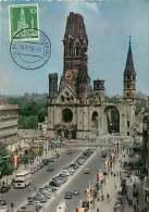 Ruine Der Kaiser-Wilhelm-Gedänchtniskirche  MiNr 144  Ersttag Stempel  Echte Foto - [5] Berlijn