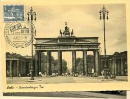 Brandenburger Tor  MiNr 140   Echte Photo - [5] Berlijn