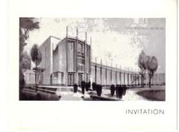 INVITATION SDN 1937 - Oude Documenten