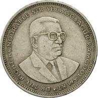 Monnaie, Mauritius, Rupee, 1990, TB+, Copper-nickel, KM:55 - Mauritius