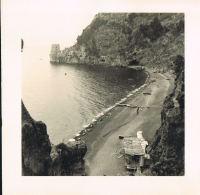 PHOTO Format 12,2 X 12,5 -POSITANO -CAMPANIA - ITALIA - Plage De Galets  - Recto Verso -Paypal Free - Luoghi