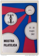1 Mostra Filatelica 21-28 Maggio 1967 Pinerolo - Poste