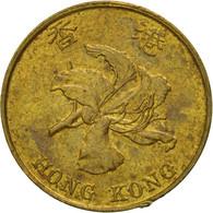 Monnaie, Hong Kong, Elizabeth II, 10 Cents, 1994, TB+, Brass Plated Steel, KM:66 - Hong Kong