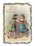 CHROMO IMAGE CHOCOLAT POULAIN JEU DE COLIN-MAILLARD - Poulain