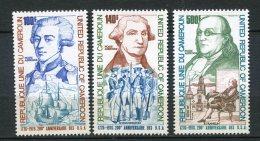 7973  CAMEROUN  PA 242/4 **  200éme Anniversaire De L'indépendance Des Etats-Unis      1975     TTB - Camerun (1960-...)