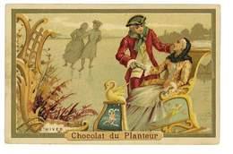 CHROMO IMAGE CHOCOLAT DU PLANTEUR L'HIVER - Autres