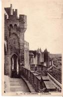 CARTE POSTALE 1935 CARCASSONNE - Carcassonne
