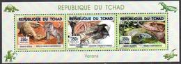 Tchad 1745/47 Varans 2015 ** - Tchad (1960-...)