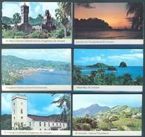 ST VINCENT  - MNH/** - 1969 -  6 BOOKLETS  - Yv 262-266  -  Lot 17762 - St.Vincent (1979-...)