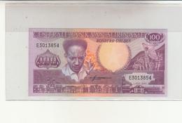 Suriname, Centrale  Bank Van Suriname Honderd Gulden 1986 - Suriname