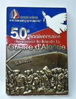 MÉDAILLE PLAQUE FNACA 50° Anniversaire Du Cessez Le Feu En Algérie EL MANSOUR - France