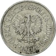 Monnaie, Pologne, 10 Groszy, 1966, Warsaw, TB, Aluminium, KM:AA47 - Pologne