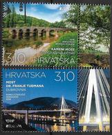 2018 Kroatien  Hrvatska   Mi. Used    Europa: Brücken - 2018