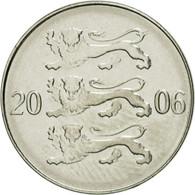 Monnaie, Estonia, 20 Senti, 2006, No Mint, SPL, Nickel Plated Steel, KM:23a - Estonie