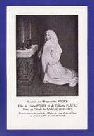Cpa Portrait Marguerite Périer Niece De Blaise Pascal Par Ph De Champagne (très Très Bon état) Y4) - Ecrivains