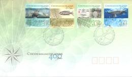COCOS (KEELING) ISLANDS  - FDC - 21.4.2009 -  Yv 433-436  -  Lot 17764 - Cocos (Keeling) Islands