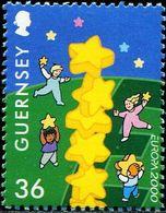 AX0512 Gengji 2000 Europa Children And Stars 1V MNH - Europe (Other)