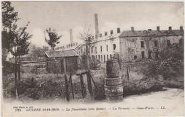 CARTE POSTALE   LA NEUVILLETTE 51  La Verrerie - France