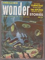 C1 THRILLING WONDER STORIES 04 1953 SF Pulp COGGINS Farmer KNIGHT Evan Hunter - Science Fiction
