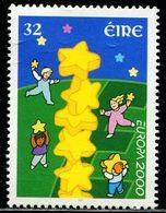 AX0516 Ireland 2000 Europa Children And Stars 1V MNH - 1949-... Repubblica D'Irlanda
