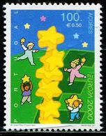 AX0518 Azores 2000 Europa Children And Stars 1V MNH - Sonstige - Europa