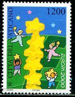 AX0522 Vatican 2000 Europa Children And Stars 1V MNH - Vatican