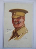 France Postcard - Emile Dupuis - Infanterie Anglaise - Arras 1915 - Vise Paris No.9 - War 1914-18