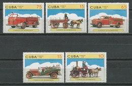 Cuba 1998 / Firefighters Firemen MNH Bomberos Feuerwehr Pompiers / Cu9135  41-23 - Pompieri