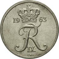 Monnaie, Danemark, Frederik IX, 10 Öre, 1963, Copenhagen, TTB, Copper-nickel - Dänemark