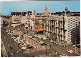 Valenciennes: DAF DAFFODIL, SIMCA 1000, CITROËN AMI 6, 2CV, DKW 3=6, FIAT 850, RENAULT 4, PEUGEOT 404 - L'Hotel De Ville - Turismo