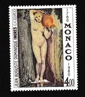 Monaco1980X Nus Féminins - Peinture - IngresY&T1226 - Monaco