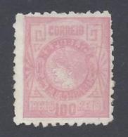 BRAZIL  1893 100r ROSE Nº 78 - Ongebruikt
