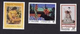 PolynésieXxNus Féminins - PeintureY&T238 + 425 + 445 - Polinesia Francese