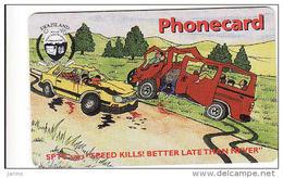 Swaziland E 50, Chip, Car,expiry Date 31. 03. 2002 - Swaziland