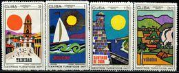 BG2281 Cuba 1970 World Heritage Building Sailing 4V MNH - Nuevos