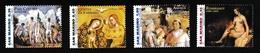 Saint-Marin2006XxNus Féminins - Peinture - RembrandtY&T2050 à 2053 - Saint-Marin