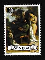 Sénégal1977XNus Féminins - Peinture - CourbetY&T475 - Senegal (1960-...)