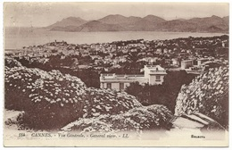 Cannes Vue Générale General View - LL 184 - Postmark 1923 Levy Et Neurdein Selecta - Cannes